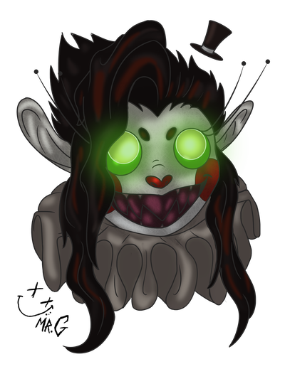 Fang drawing permanent. Twizzy by mrgwynplaine on