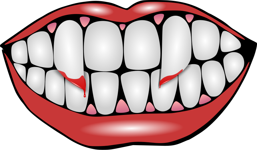 Fangs border transparent png. Collection of vampire