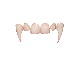Fangs png. Vampire teeth transparent background