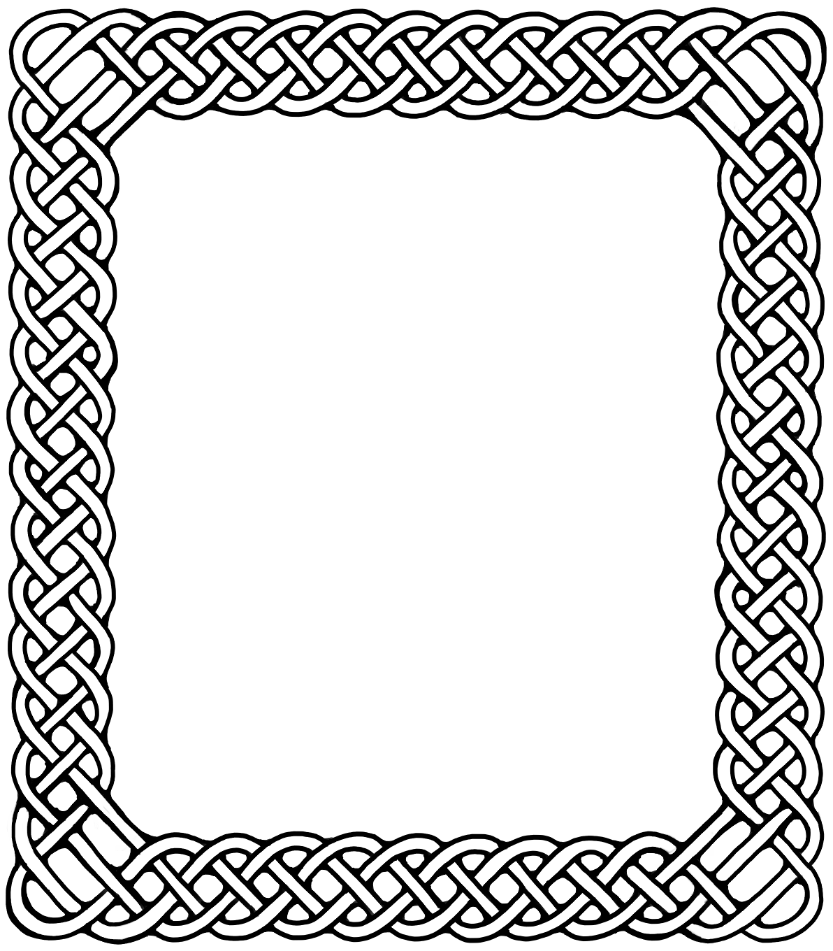 Fantasy border png. Celtic knot knotting watkanjewel