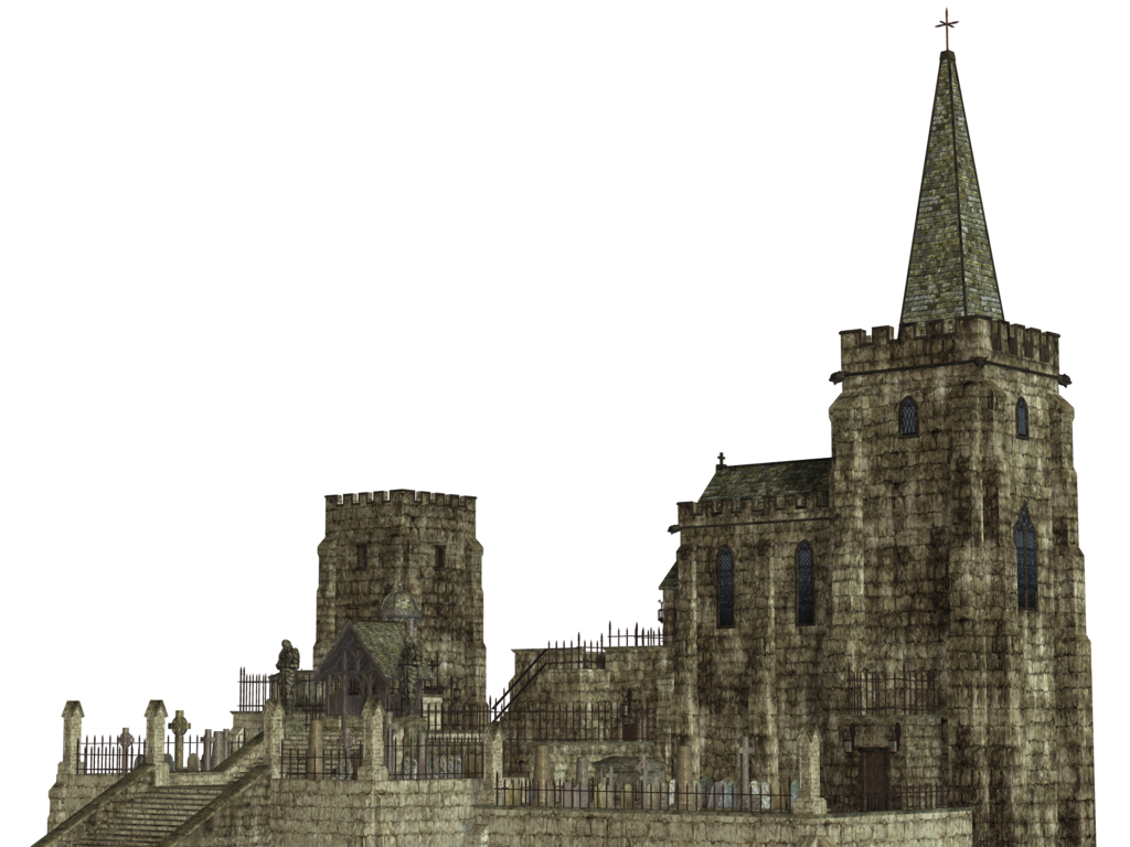 Transparent castle gothic. Fantasy png free download