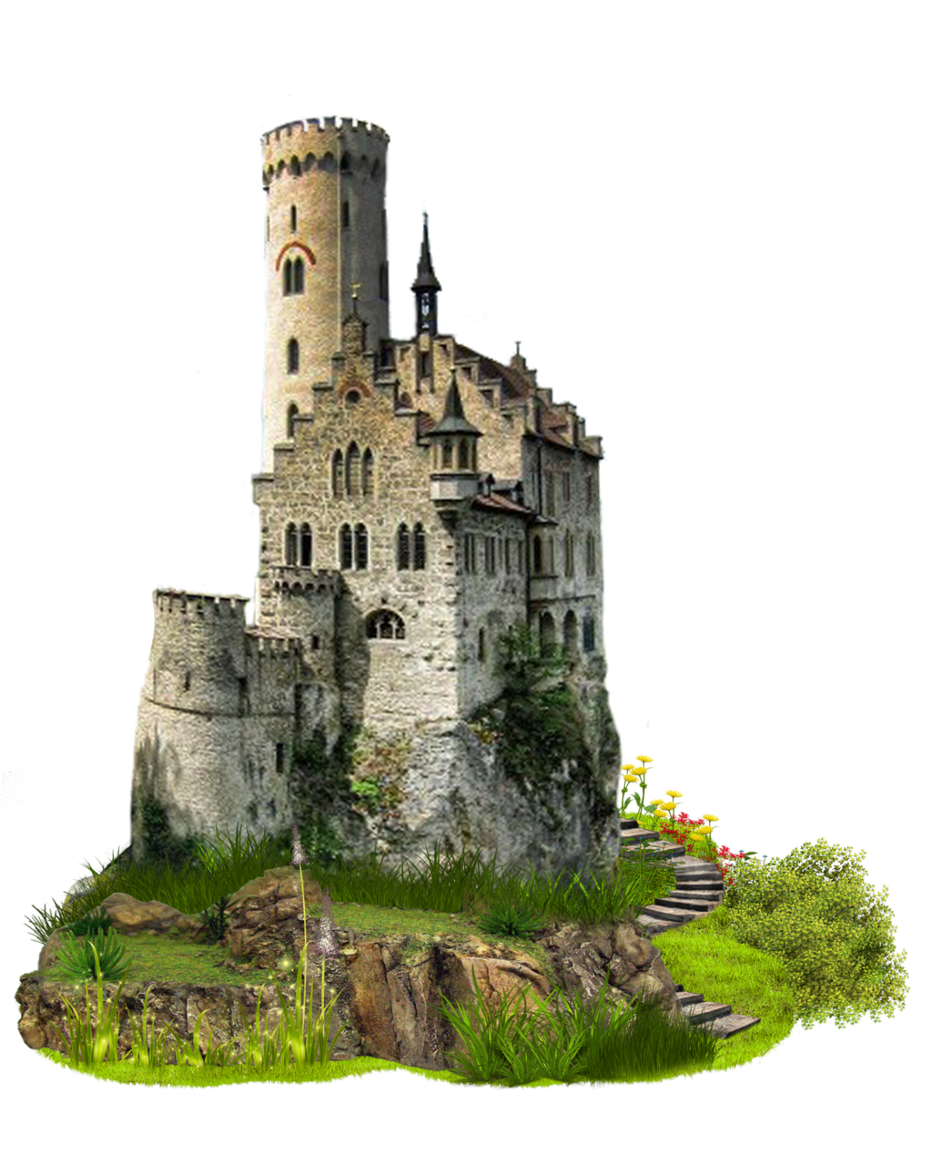 Fantasy castle png. Transparent images pluspng image