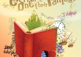 Fantasy clipart book. Free and vector graphics