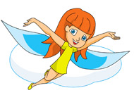 Fantasy clipart flying. Free clip art pictures