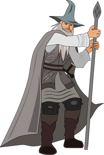Fantasy clipart wizard. Free graphics of wizards