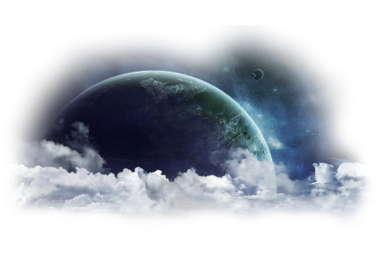 Fantasy planet png. Earth space effects science