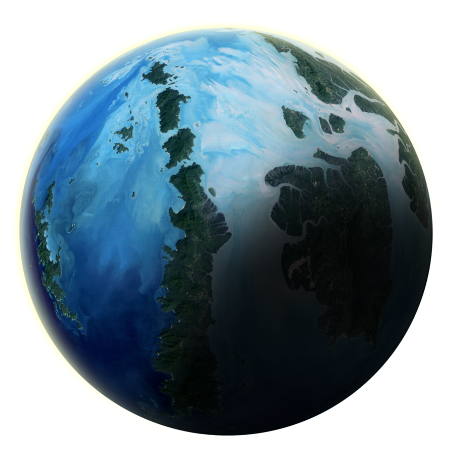Fantasy planet png. Tutorial converting planets to