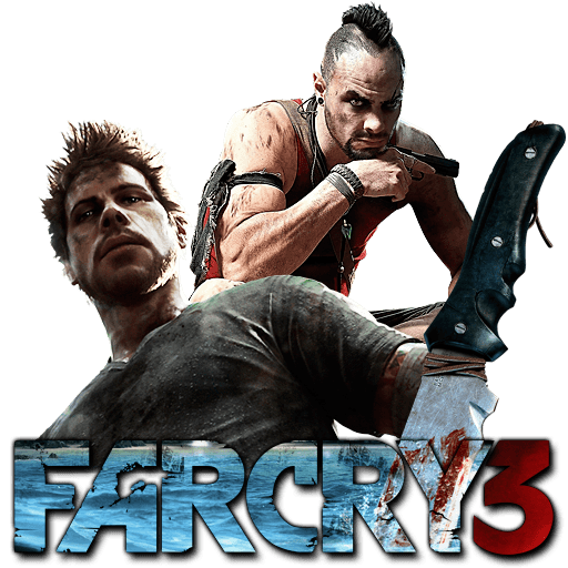 Far cry 3 logo png. Transparent stickpng games