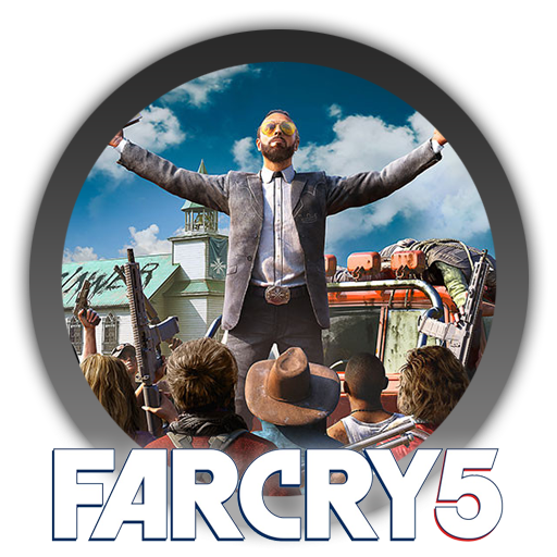 Far cry 5 title png. Icon by blagoicons on