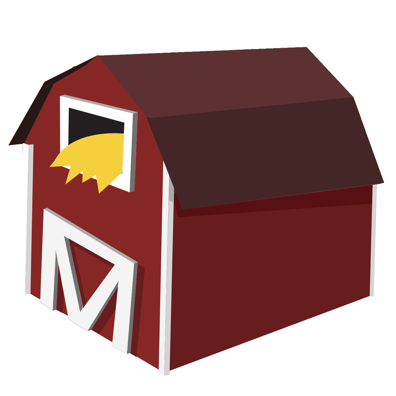 Barn png cow. Agriculture icons vector free
