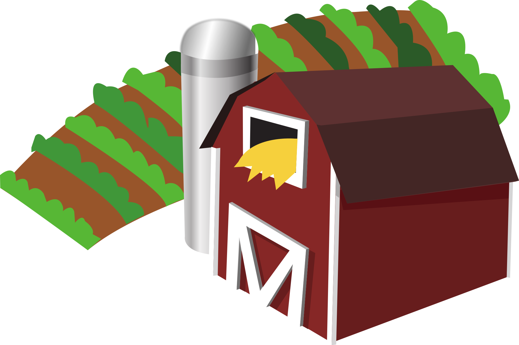 Farmers clipart village farmer. File barn with farm