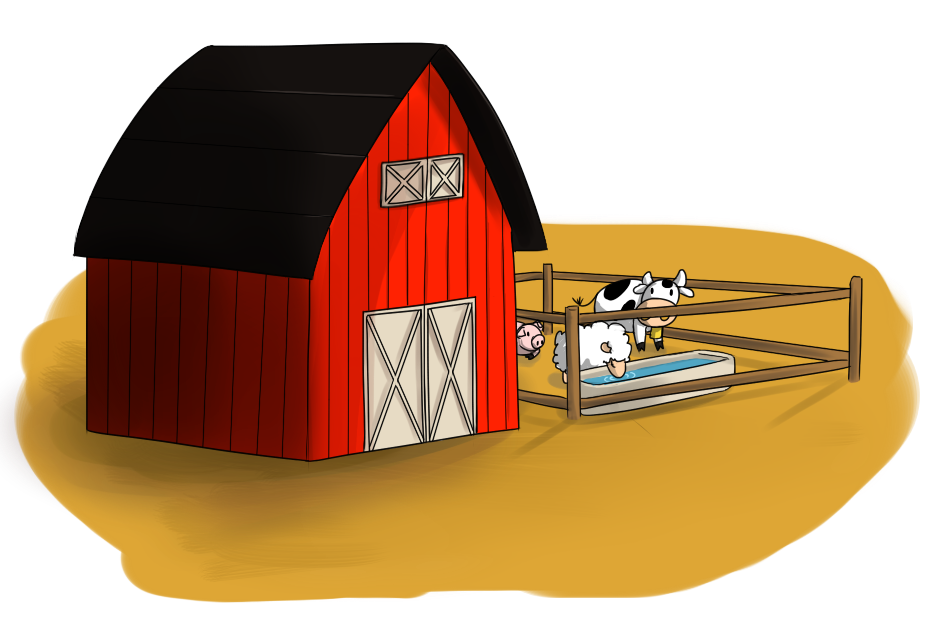 Farm clipart. Free barn cliparts download