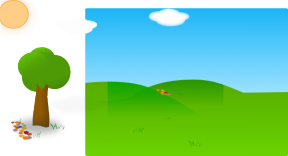 Farm clipart background. Free animated farming cliparts