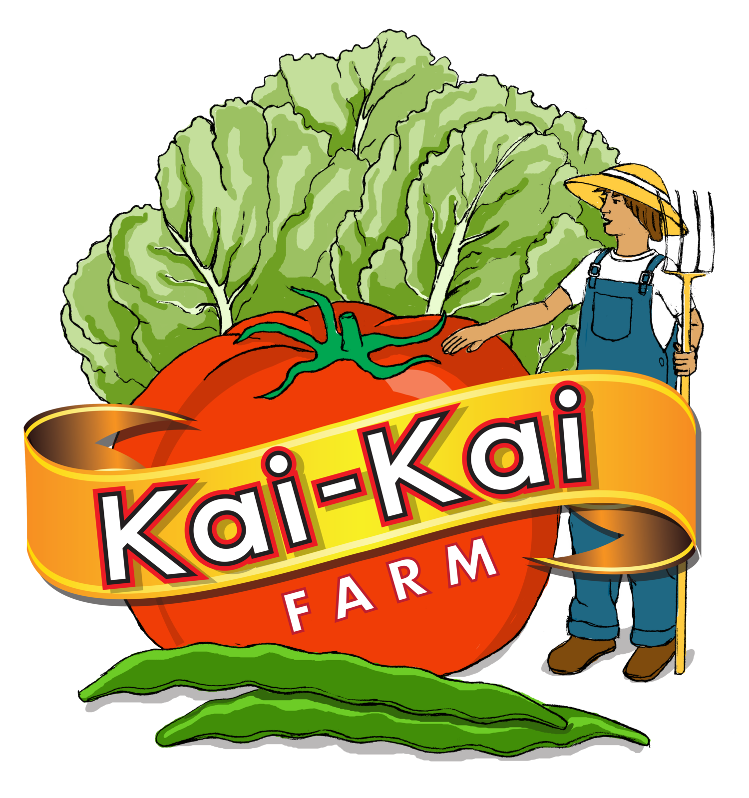 Farm clipart cabbage. Kai