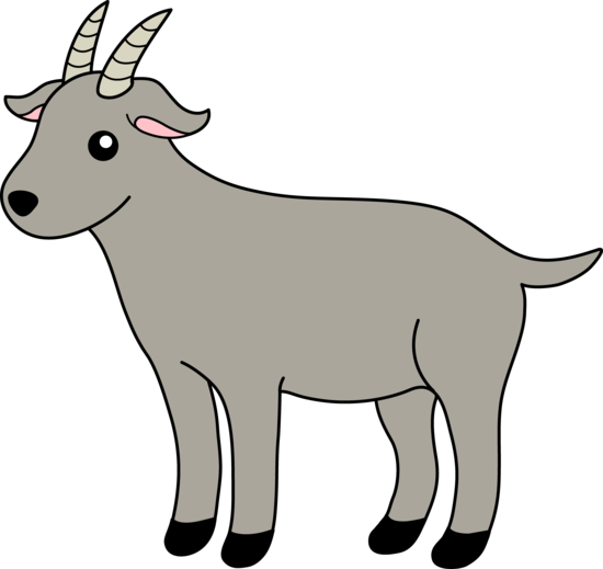 Farm clipart goat. Calam o friends on