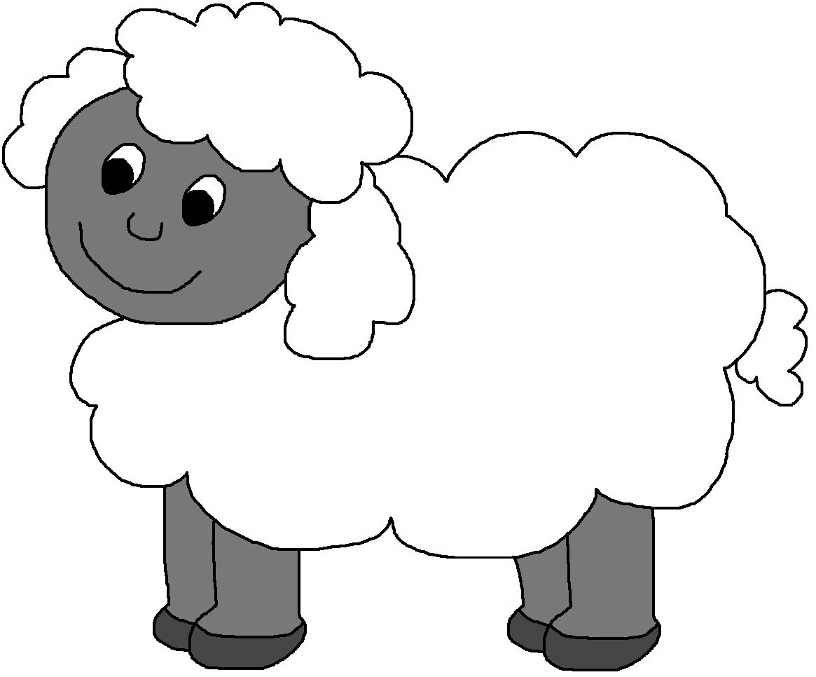 Farm clipart sheep. Clip art graphics by