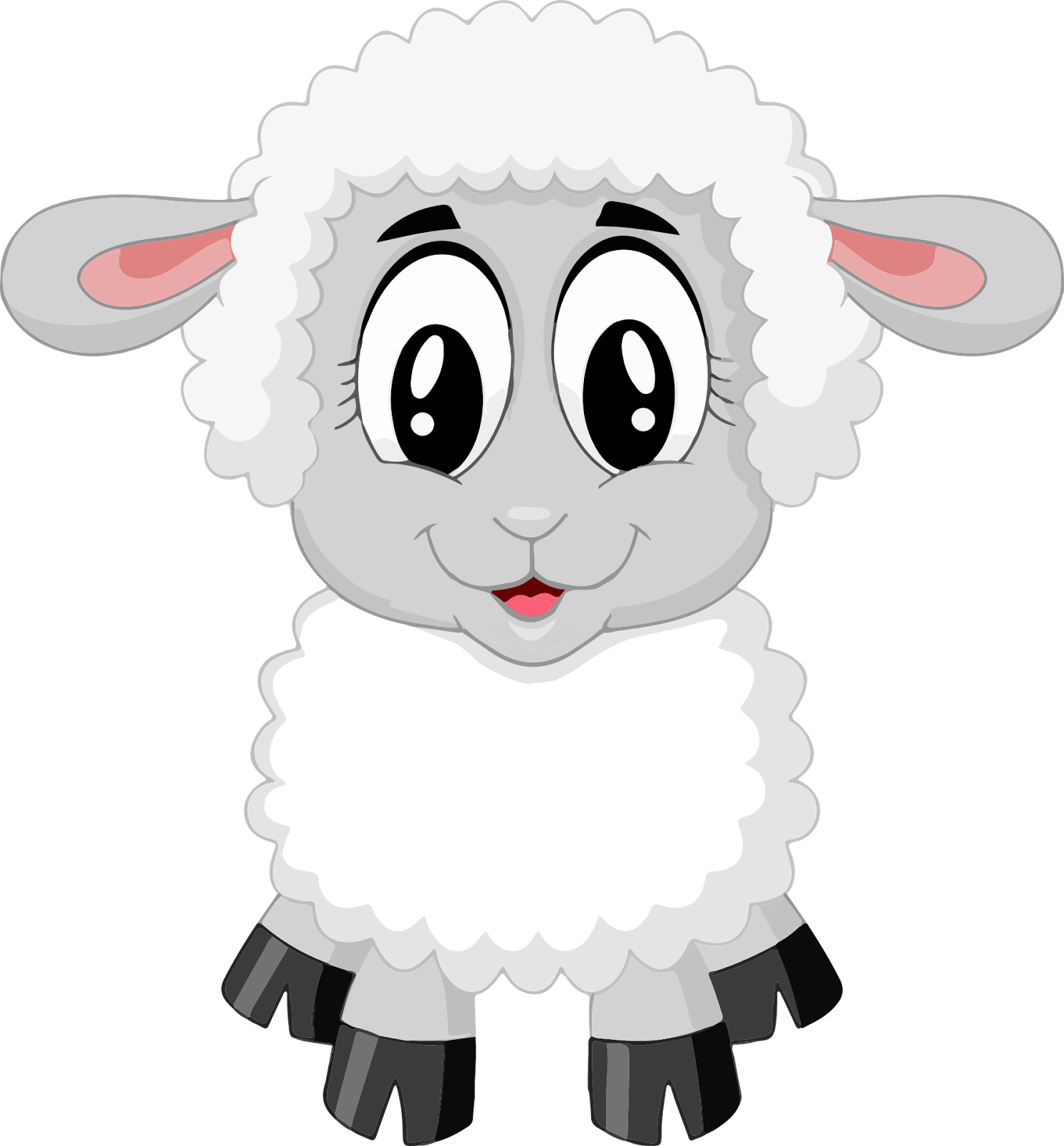 Farm clipart sheep. Artes coloridos paperpiecing cartoon