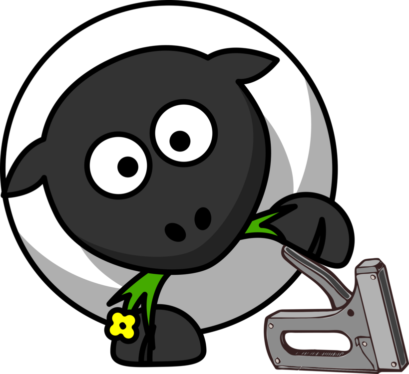 Farm clipart sheep. Farming goat cartoon lamb