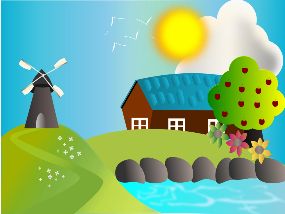 Farmhouse clipart farm work. Hay day cartoon free