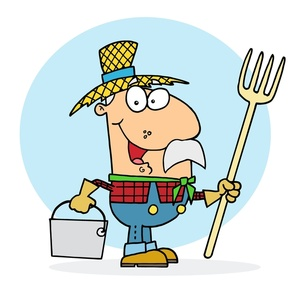 Farmer clipart. Free image acclaim cartoon