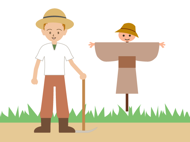 Farmer clipart agriculturist. Couple transparent free for