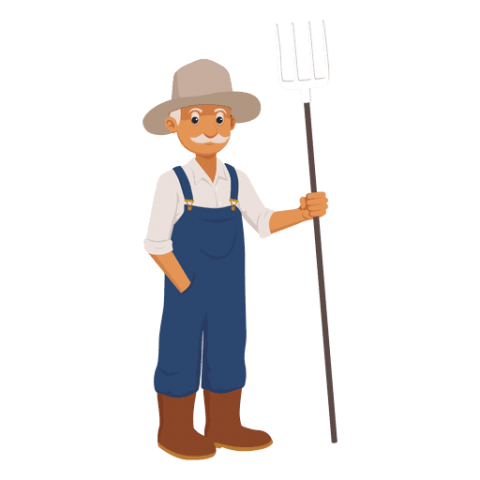 Png farmer. Download clipart photo toppng