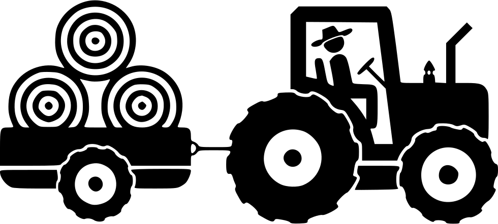Farmer png icon. Farm farming transport tractor