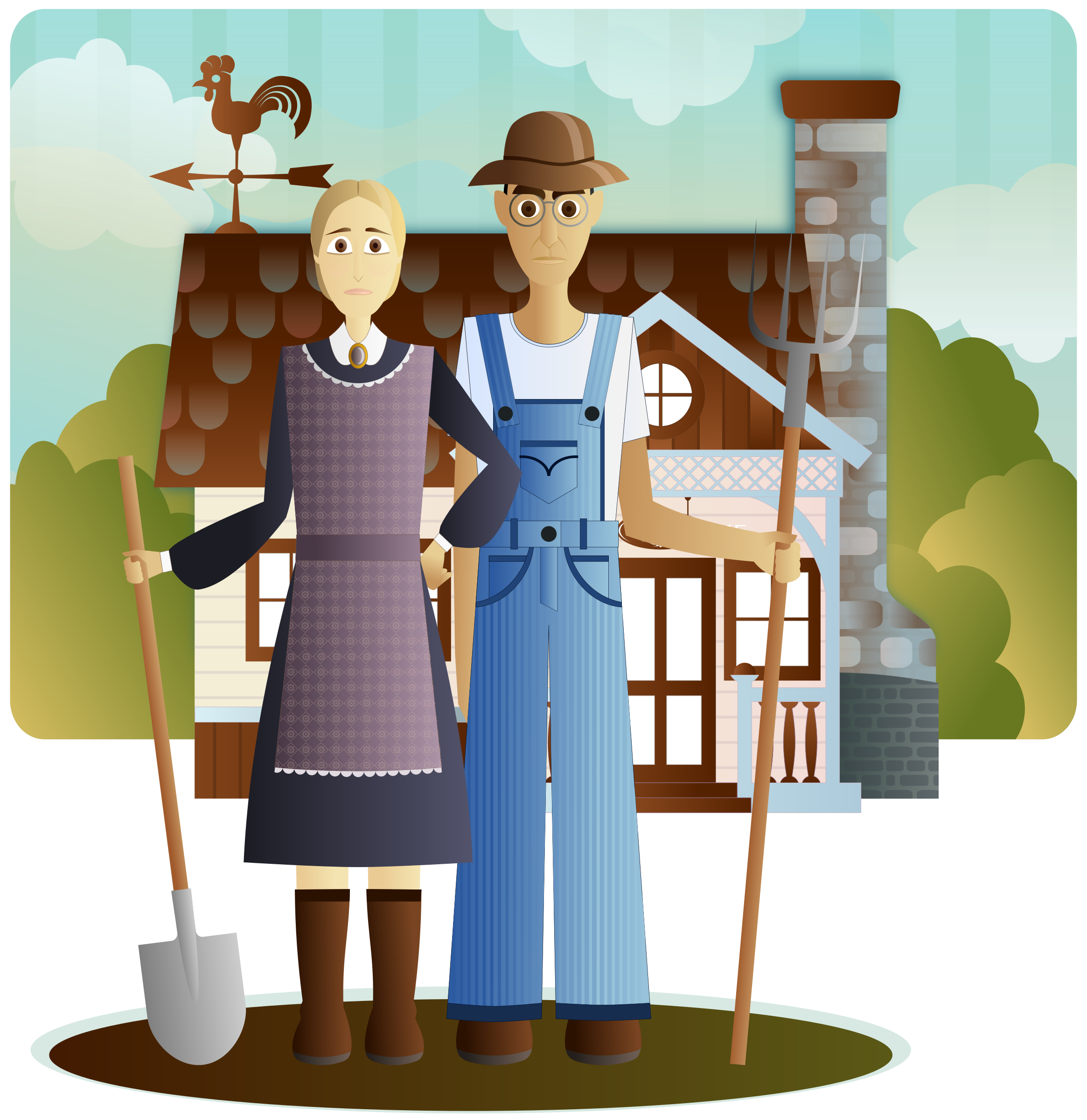 Farmers clipart gambar. Gothic big image png