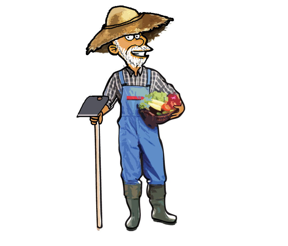 Farmers clipart gambar. March yardstick for life