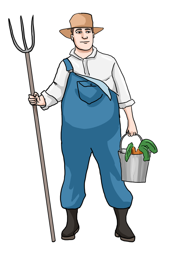 old farmer png