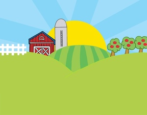 Farmers clipart gambar. Red the tomato a