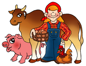 Farmers clipart human animal. Free farming cliparts download