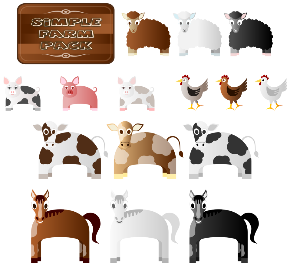 Farmers clipart medieval farm. Farmer commercial farming clip