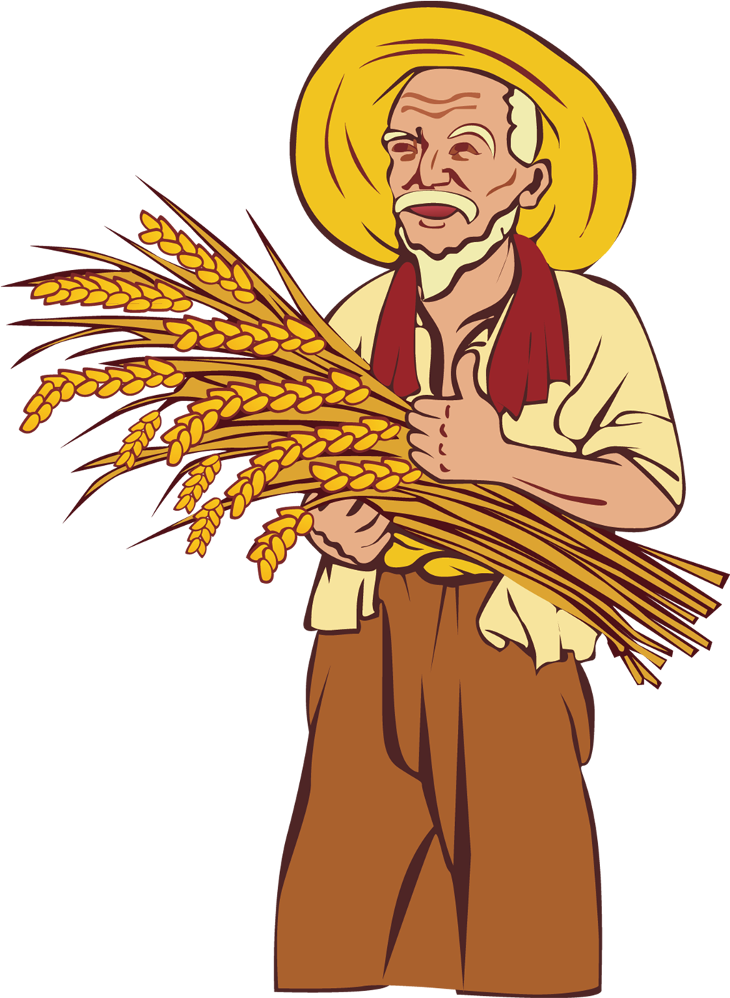 Farmers clipart rice farmer. Download hd picture library
