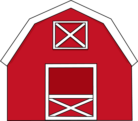 houses clipart cow