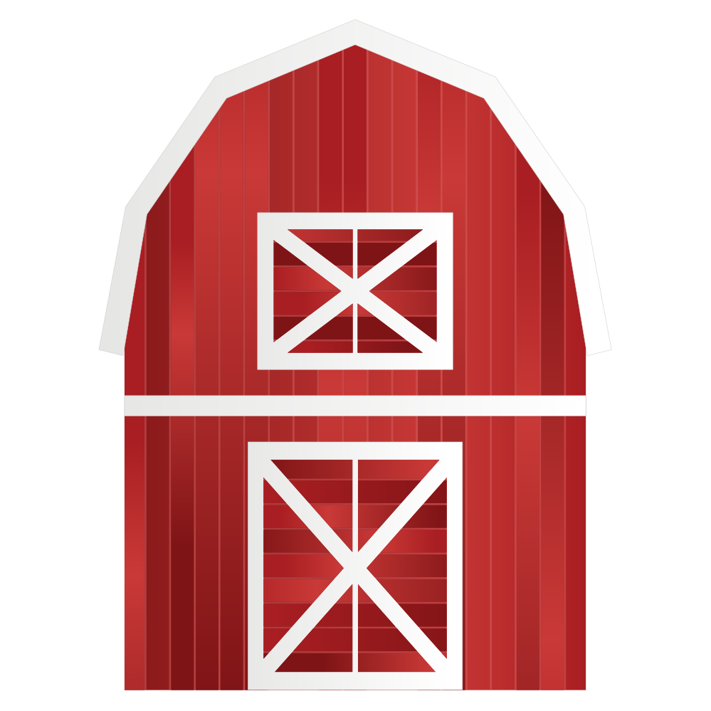 Farmhouse clipart big red barn. Free download clip art