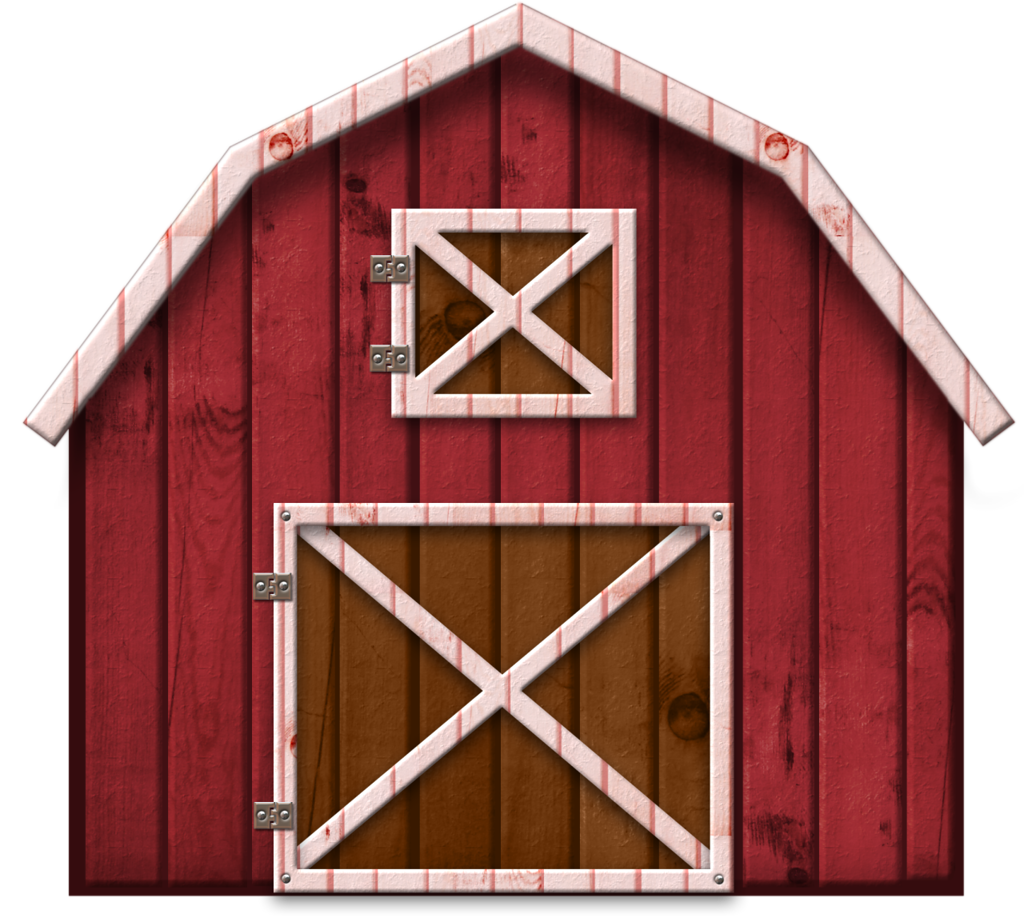 Farmhouse clipart big red barn. Png lauty pinterest harvest
