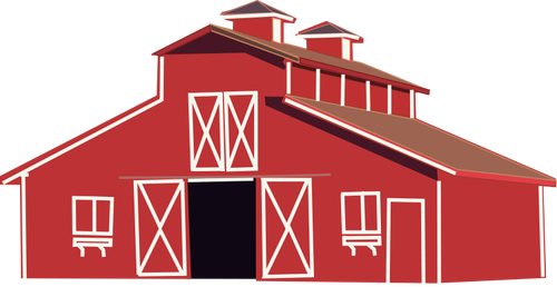 Farmhouse clipart farm work. House clip art library