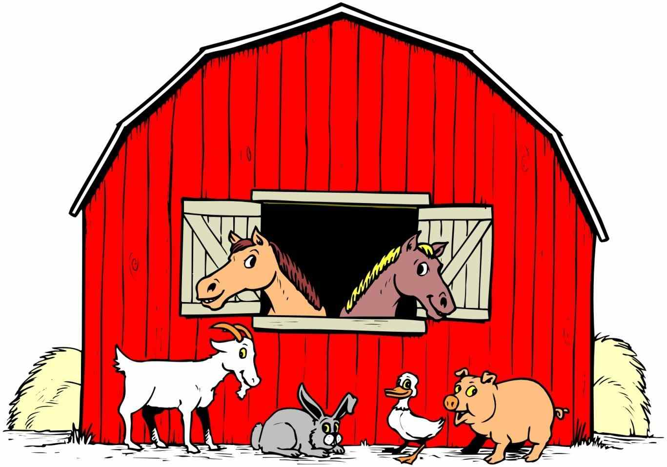 Farmhouse clipart farm work. Free at getdrawings com