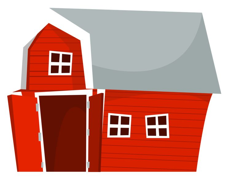 Farmhouse clipart farm work. Best granja images