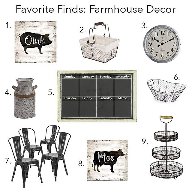 Farmhouse clipart farmhouse decor. Walmart finds