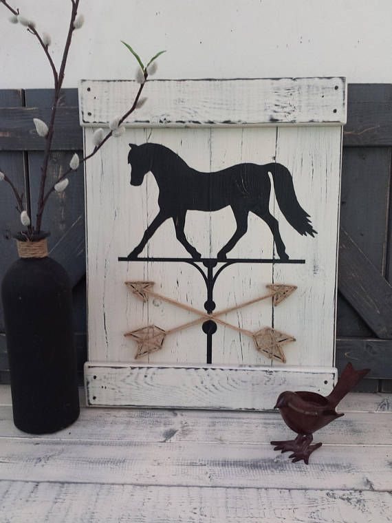 Farmhouse clipart horse shelter. Painting equestrian decor weathervane