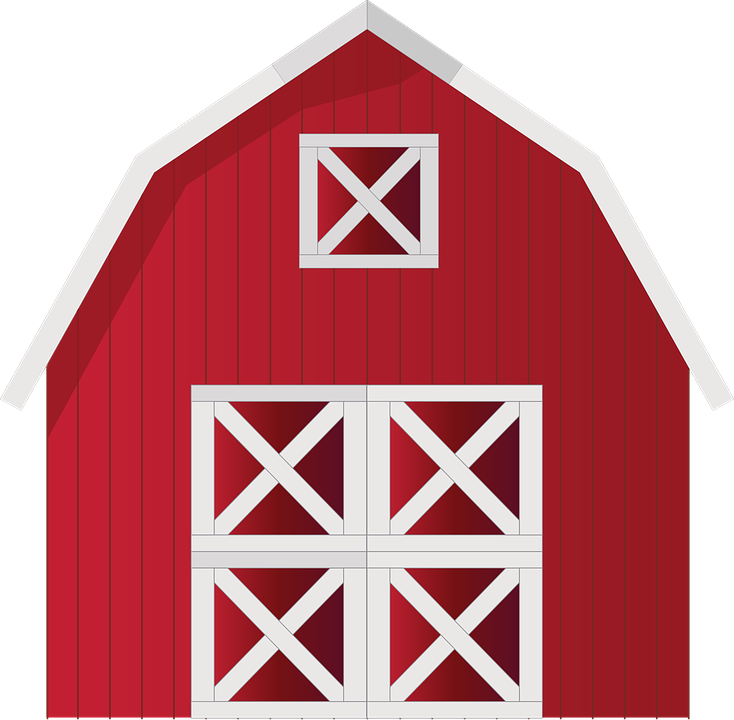 Barn clipart printable. Free image on pixabay