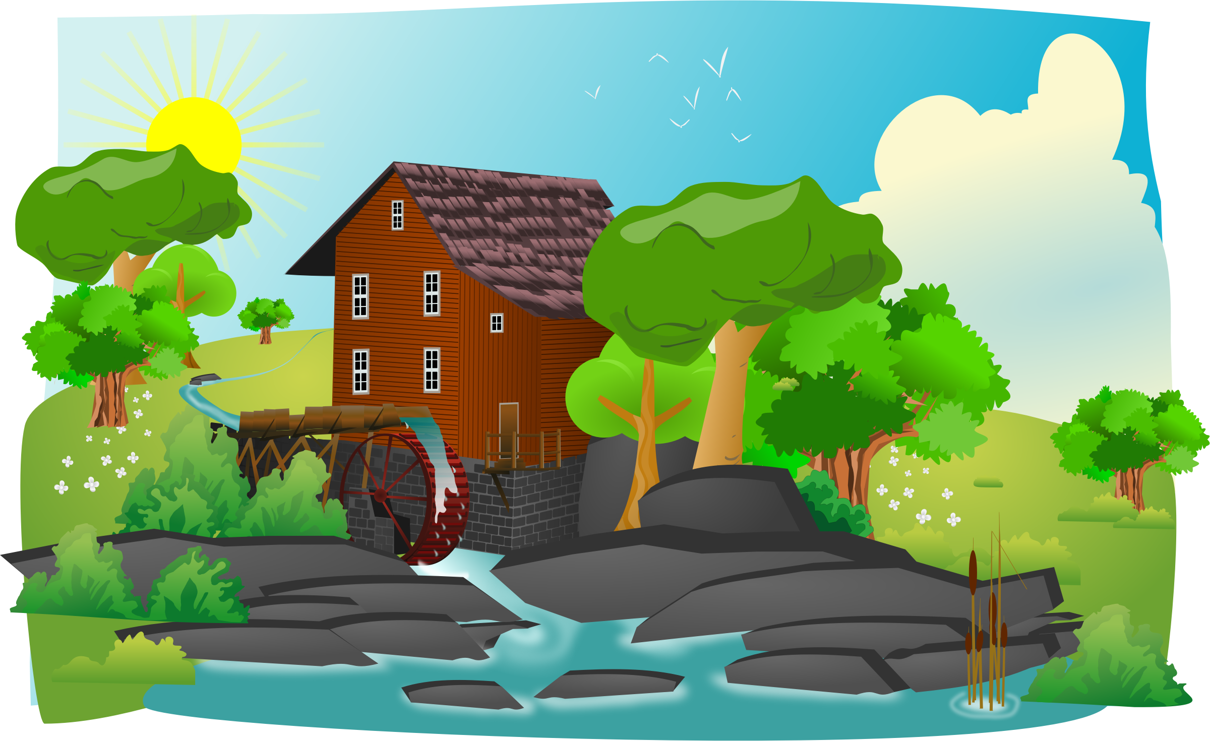 Farming clipart countryside. Farm free on dumielauxepices