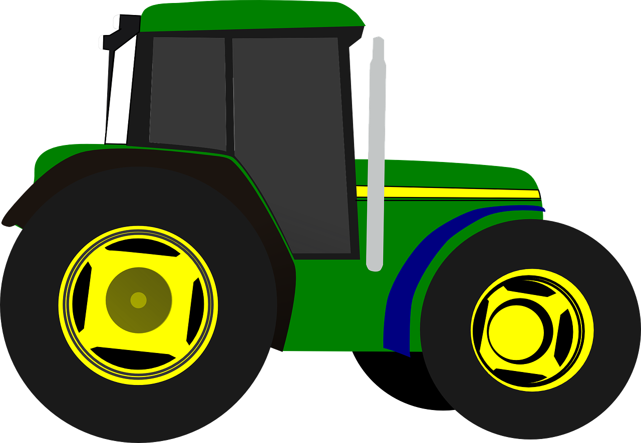 Farming clipart farm equipment. Tractor vehicle transparent image