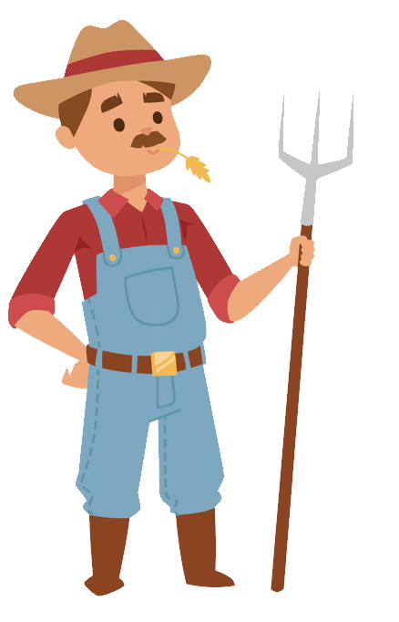 Farming clipart farm worker. Farmer png images free