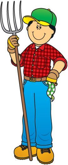 Farming clipart farm worker. Kid construction panda free