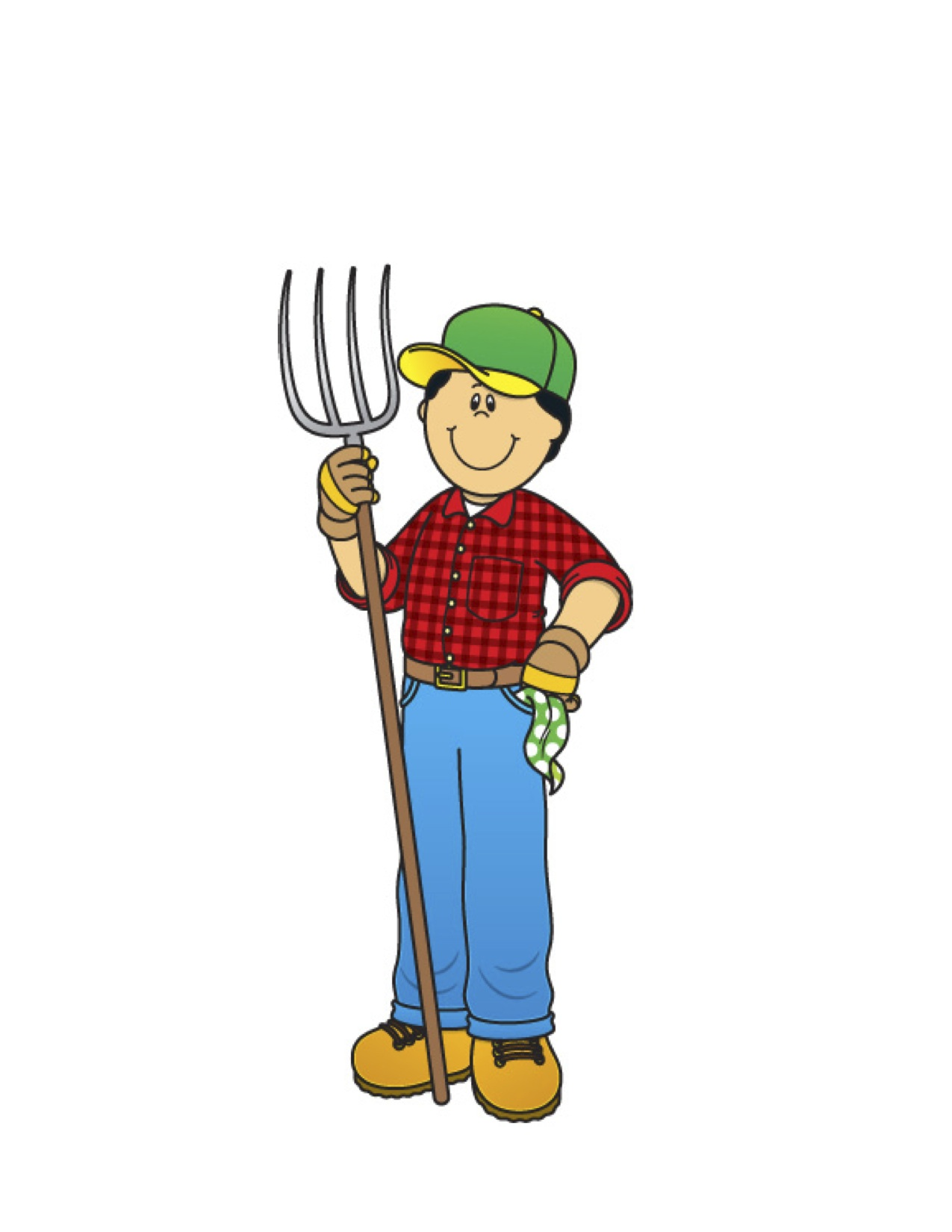 Farming clipart farm worker. Christmas gingerbread man at