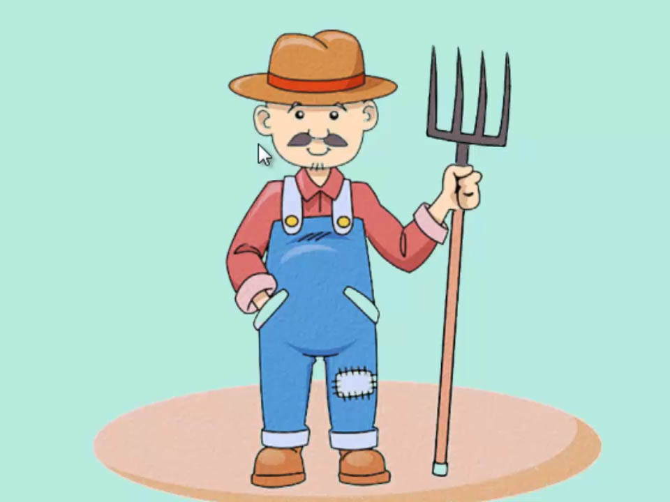 Farming clipart framer. How to draw a