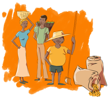 Farming clipart poor farmer. Smallholders access to fertilizers